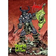 HIRAX - Thrash and Destroy DVD+CD