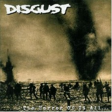 DISGUST - the horror of it all CD