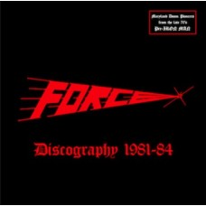 FORCE - Discography 1981-84 CD