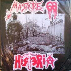 MASSACRE 68/HISTERIA Picture LP (Picture Disc)